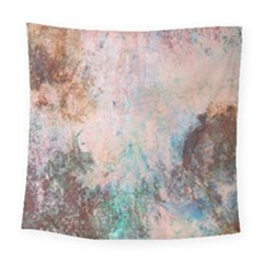 Cold Stone Abstract Square Tapestry (large)