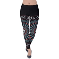 Twenty One Pilots Velvet Leggings