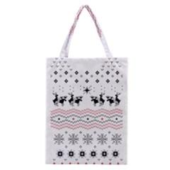 Ugly Christmas Humping Classic Tote Bag