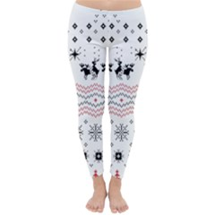 Ugly Christmas Humping Classic Winter Leggings