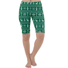 Ugly Christmas Cropped Leggings