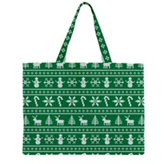 Ugly Christmas Large Tote Bag