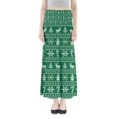Ugly Christmas Maxi Skirts