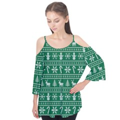 Ugly Christmas Flutter Tees