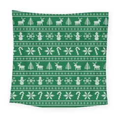 Ugly Christmas Square Tapestry (Large)