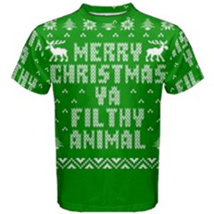 Ugly Christmas Sweater Men s Cotton Tee
