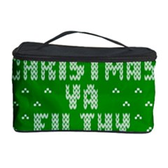 Ugly Christmas Sweater Cosmetic Storage Case