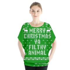 Ugly Christmas Sweater Blouse