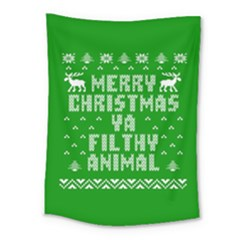 Ugly Christmas Sweater Medium Tapestry