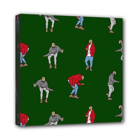 Drake Ugly Holiday Christmas Mini Canvas 8  x 8