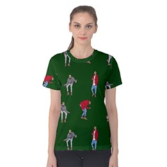 Drake Ugly Holiday Christmas Women s Cotton Tee