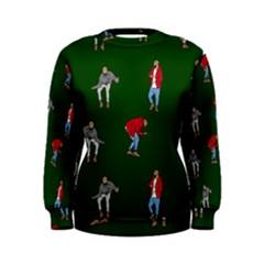 Drake Ugly Holiday Christmas Women s Sweatshirt