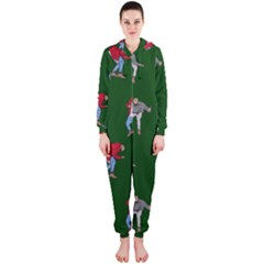 Drake Ugly Holiday Christmas Hooded Jumpsuit (Ladies)