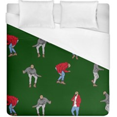 Drake Ugly Holiday Christmas Duvet Cover (King Size)