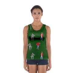 Drake Ugly Holiday Christmas Women s Sport Tank Top