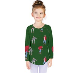Drake Ugly Holiday Christmas Kids  Long Sleeve Tee