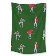 Drake Ugly Holiday Christmas Large Tapestry
