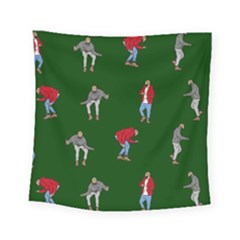 Drake Ugly Holiday Christmas Square Tapestry (small)