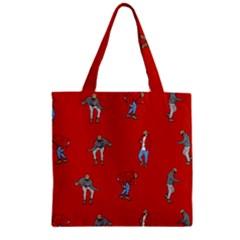 Drake Ugly Holiday Christmas Zipper Grocery Tote Bag