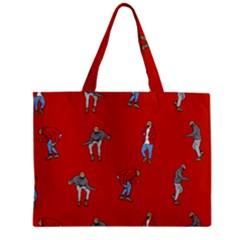 Drake Ugly Holiday Christmas Zipper Mini Tote Bag