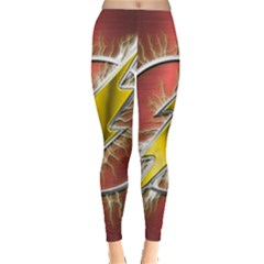 Flash Flashy Logo Leggings