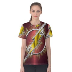 Flash Flashy Logo Women s Cotton Tee
