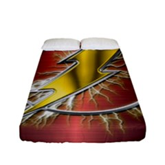 Flash Flashy Logo Fitted Sheet (full/ Double Size)