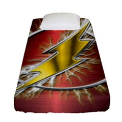 Flash Flashy Logo Fitted Sheet (Single Size)