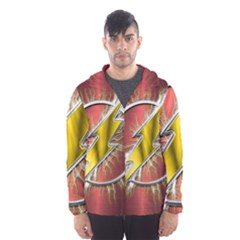 Flash Flashy Logo Hooded Wind Breaker (Men)