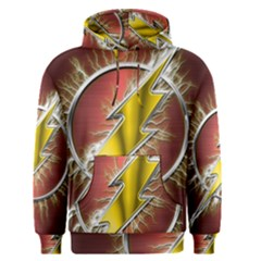 Flash Flashy Logo Men s Pullover Hoodie