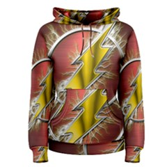 Flash Flashy Logo Women s Pullover Hoodie