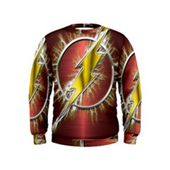 Flash Flashy Logo Kids  Sweatshirt