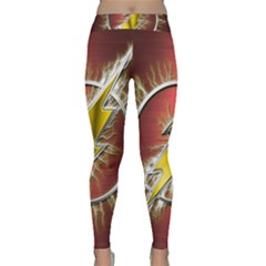 Flash Flashy Logo Classic Yoga Leggings