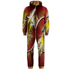 Flash Flashy Logo Hooded Jumpsuit (Men)