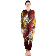 Flash Flashy Logo OnePiece Jumpsuit (Ladies)