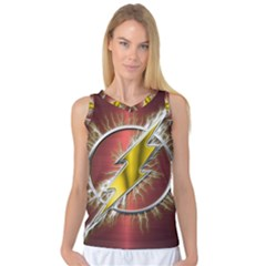 Flash Flashy Logo Women s Basketball Tank Top
