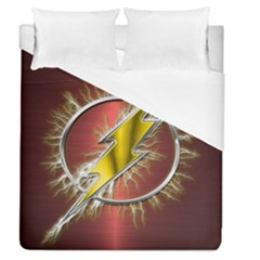 Flash Flashy Logo Duvet Cover (Queen Size)