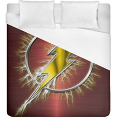 Flash Flashy Logo Duvet Cover (King Size)