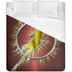 Flash Flashy Logo Duvet Cover (California King Size)