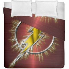 Flash Flashy Logo Duvet Cover Double Side (King Size)