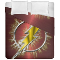 Flash Flashy Logo Duvet Cover Double Side (California King Size)