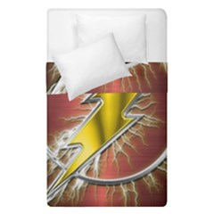 Flash Flashy Logo Duvet Cover Double Side (single Size)