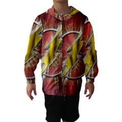 Flash Flashy Logo Hooded Wind Breaker (Kids)