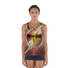 Flash Flashy Logo Women s Sport Tank Top