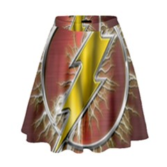 Flash Flashy Logo High Waist Skirt