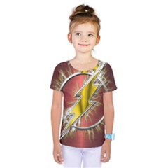 Flash Flashy Logo Kids  One Piece Tee