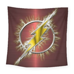 Flash Flashy Logo Square Tapestry (Large)