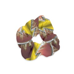 Flash Flashy Logo Velvet Scrunchie