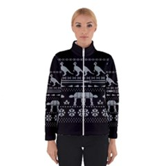 Holiday Party Attire Ugly Christmas Black Background Winterwear