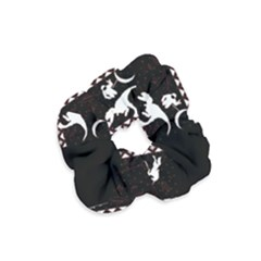 I Wasn t Good This Year, I Was Awesome! Ugly Holiday Christmas Black Background Velvet Scrunchie